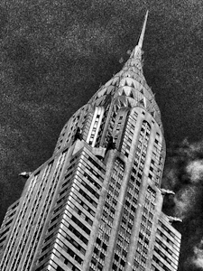 "Award-Extreme in Size, Gail Dohrmann, ""Chrysler Building"""