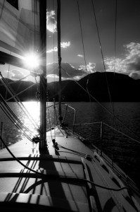 "Award-Digital Realism, Karin de Jamaer, ""Sailing into the Sunset"""